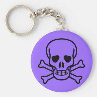 Skull and Crossboness Keychain