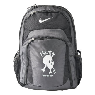 Skull and Crossed Bones Killin' it Backpack