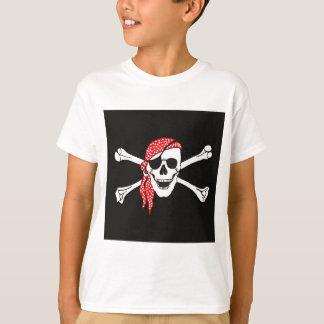 Skull and Crossed Bones Pirate Flag T-Shirt