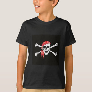 Skull and Crossed Bones Pirate Flag T-Shirt