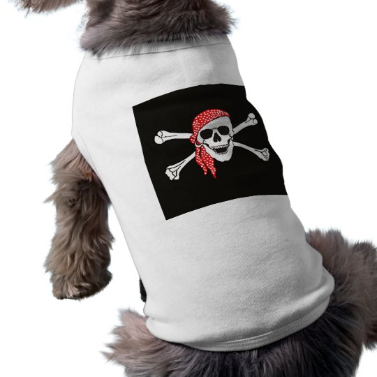 Skull and Crossed Bones Pirate Flag Tee