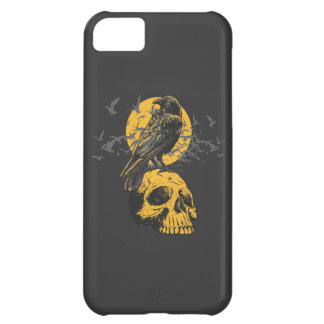 Skull and Crow iPhone 5C Covers