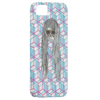 Skull and Cube Design iPhone 5 Cases