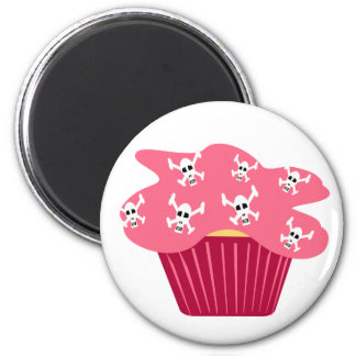 Skull and Cupcakes Magnet