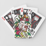 Skull and Dagger Bicycle Poker Cards