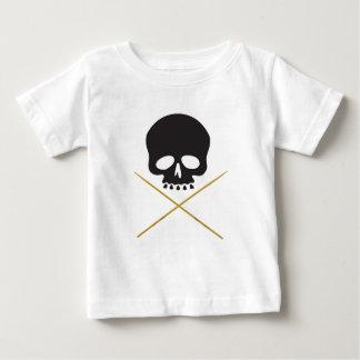 Skull and Drumstick Crossbones Baby T-Shirt