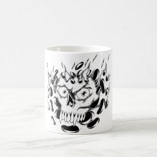 Skull and Flames Mug