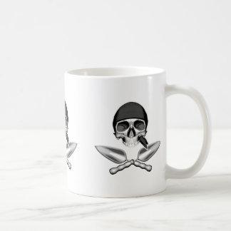 Skull and Gardening Trowels Coffee Mug