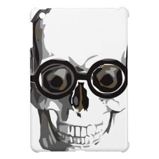 Skull and glasses iPad mini case