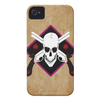 Skull and Guns Tattoo iPhone 4 Cases