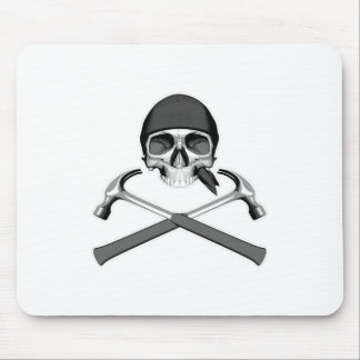 Skull and Hammers Mouse Pad