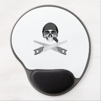 Skull and Handsaws Gel Mouse Pad