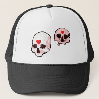 Skull and Hearts Hat