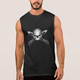 Skull and Irons Sleeveless Shirt