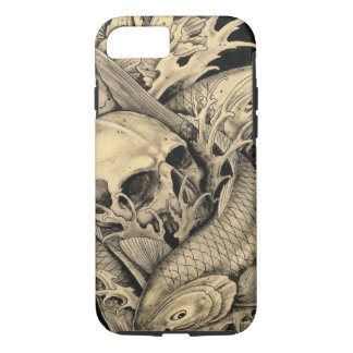 Skull and Koi iPhone 8/7 Case