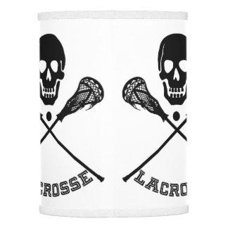 Skull and Lacrosse Sticks Lamp Shade