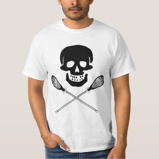Skull and Lacrosse Sticks T-Shirt