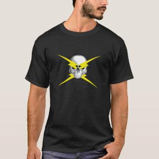 Skull and Lightning Bolts T-Shirt
