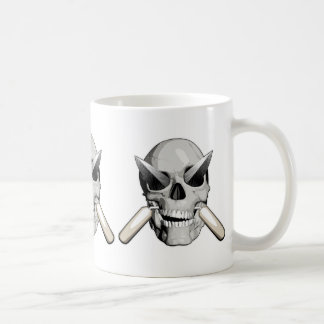 Skull and Mason Trowels v2 Coffee Mug