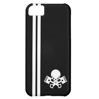 Skull and piston car cool motorcycle muscle car en case for iPhone 5C
