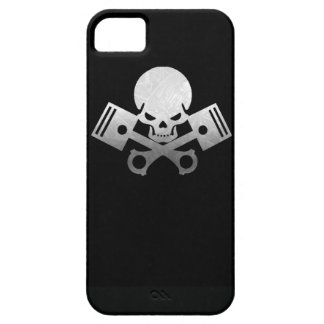 Skull and piston car cool motorcycle muscle car en iPhone SE/5/5s case