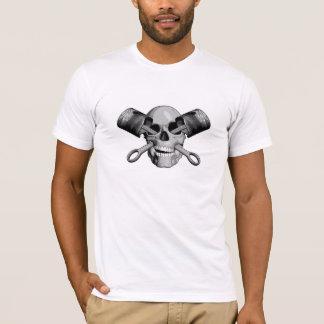 Skull and Pistons v2 T-Shirt