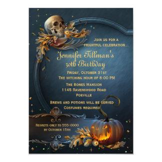 card adult halloween