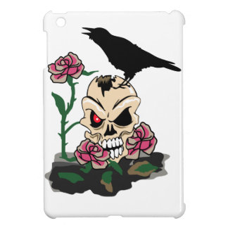 Skull And Raven iPad Mini Case