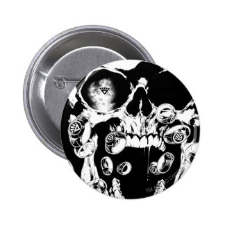 Skull and Rings Button