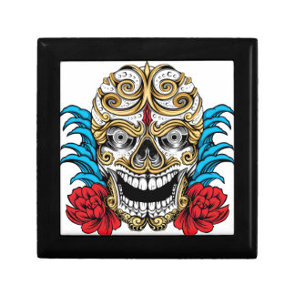SKULL AND ROSES by THE ART DUMP Gift Box