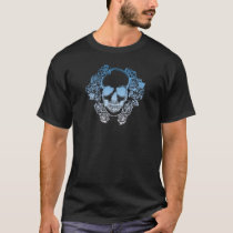 Skull and Roses Graphic T-Shirt