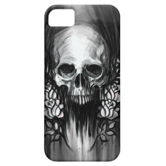 Skull and Roses iPhone SE/5/5s Case