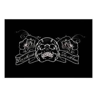 Skull and Roses: Poster