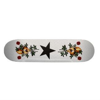 Skull and Roses Skate Board Deck
