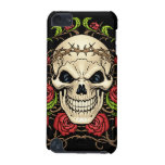 Skull and Roses with Crown Of Thorns by Al Rio iPod Touch 5G Case
