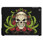 Skull and Roses with Crown Of Thorns by Al Rio Case For iPad Air