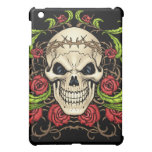 Skull and Roses with Crown Of Thorns by Al Rio iPad Mini Case