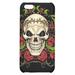 Skull and Roses with Crown Of Thorns by Al Rio iPhone 5C Case