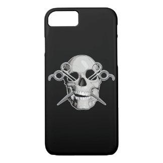 Skull and Scissors v3 iPhone 7 Case