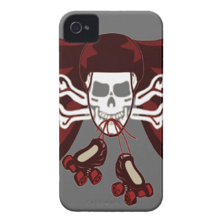 skull and skates phone cover