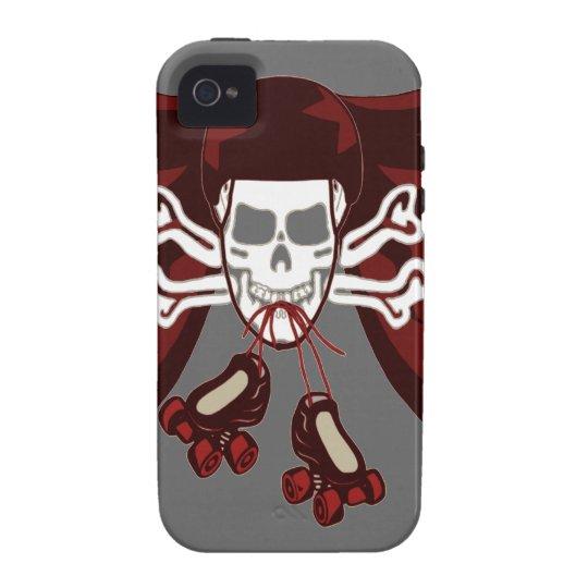skull and skates phone cover