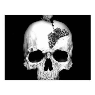 Skull and soul postcard