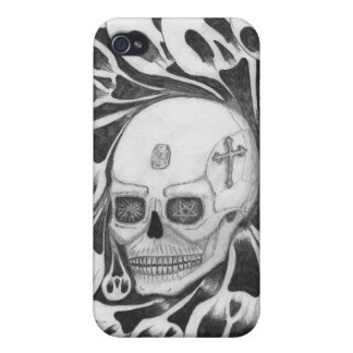 Skull and souls images iPhone 4 cover