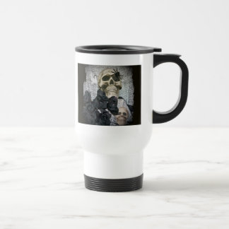 Skull and Spider Travel Mug