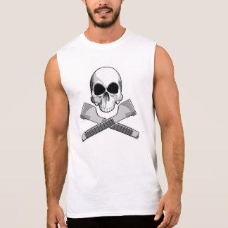Skull and Staplers Sleeveless T-shirt