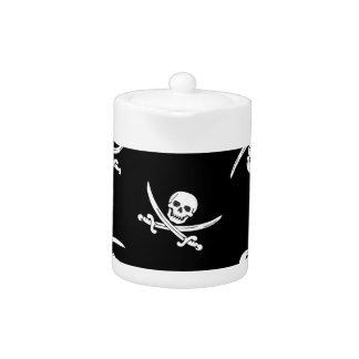 Skull and sword teapot