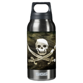 Skull and Swords Insulated Water Bottle