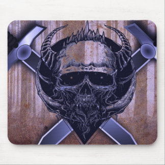 Skull and Swords Mouse Pad
