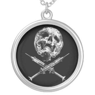 Skull and Syringes Custom Jewelry