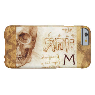SKULL AND TEETH ,DENTAL CLINIC ,DENTIST MONOGRAM BARELY THERE iPhone 6 CASE